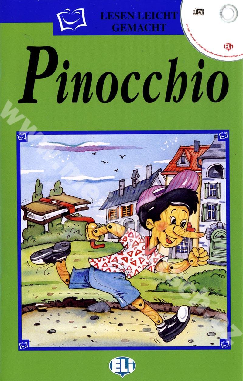 Pinocchio - zjednodušená četba vč. CD v němčině pro děti