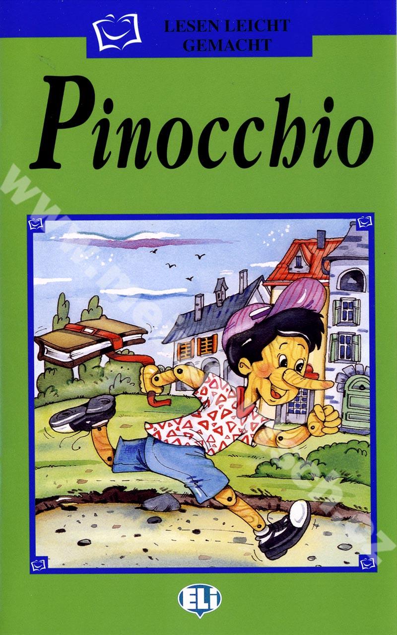 Pinocchio - zjednodušená četba v němčině pro děti