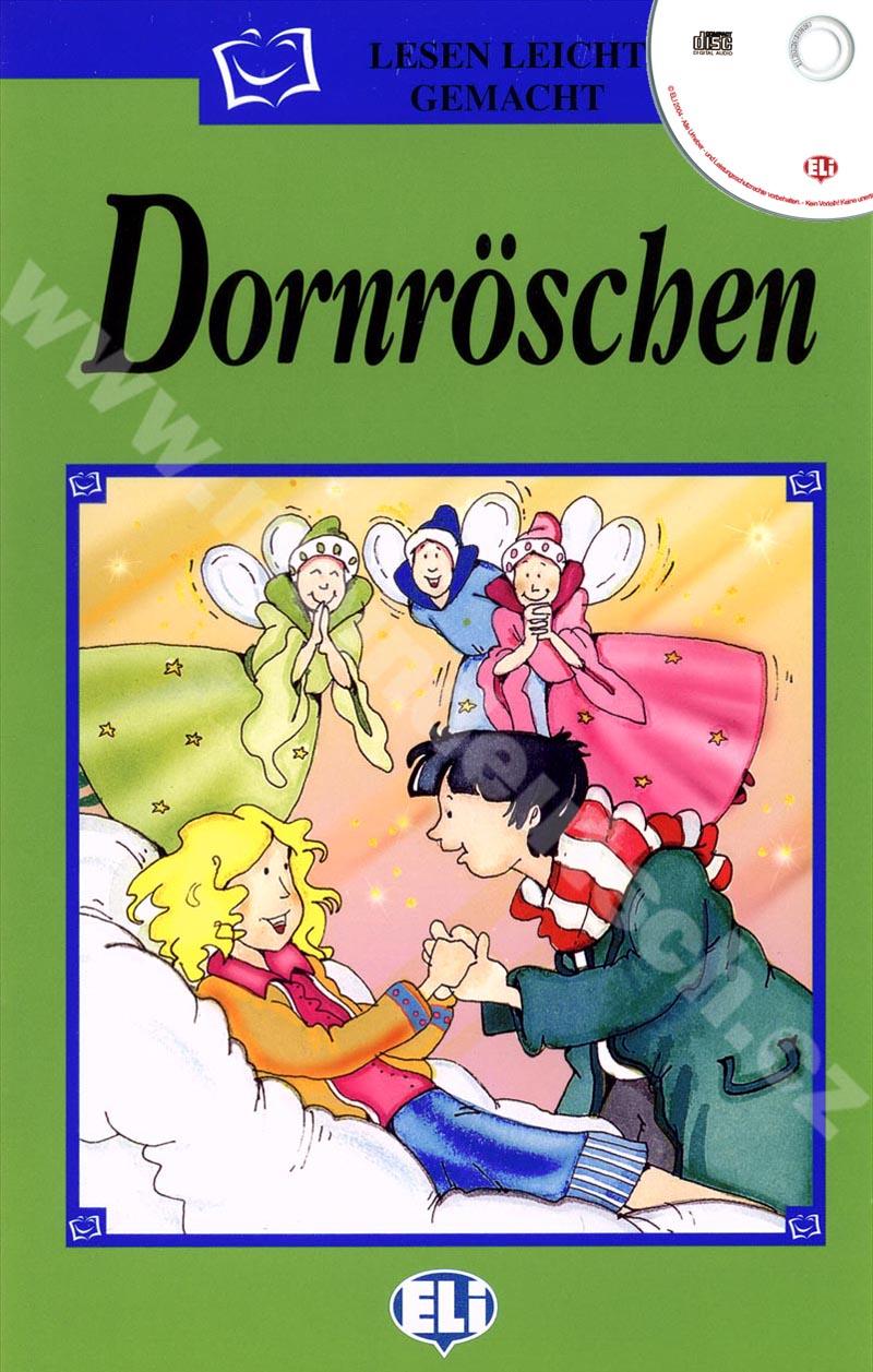 Dornröschen - zjednodušená četba vč. CD v němčině pro děti