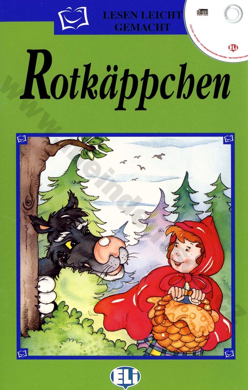 Rotkäppchen - zjednodušená četba vč. CD v němčině pro děti