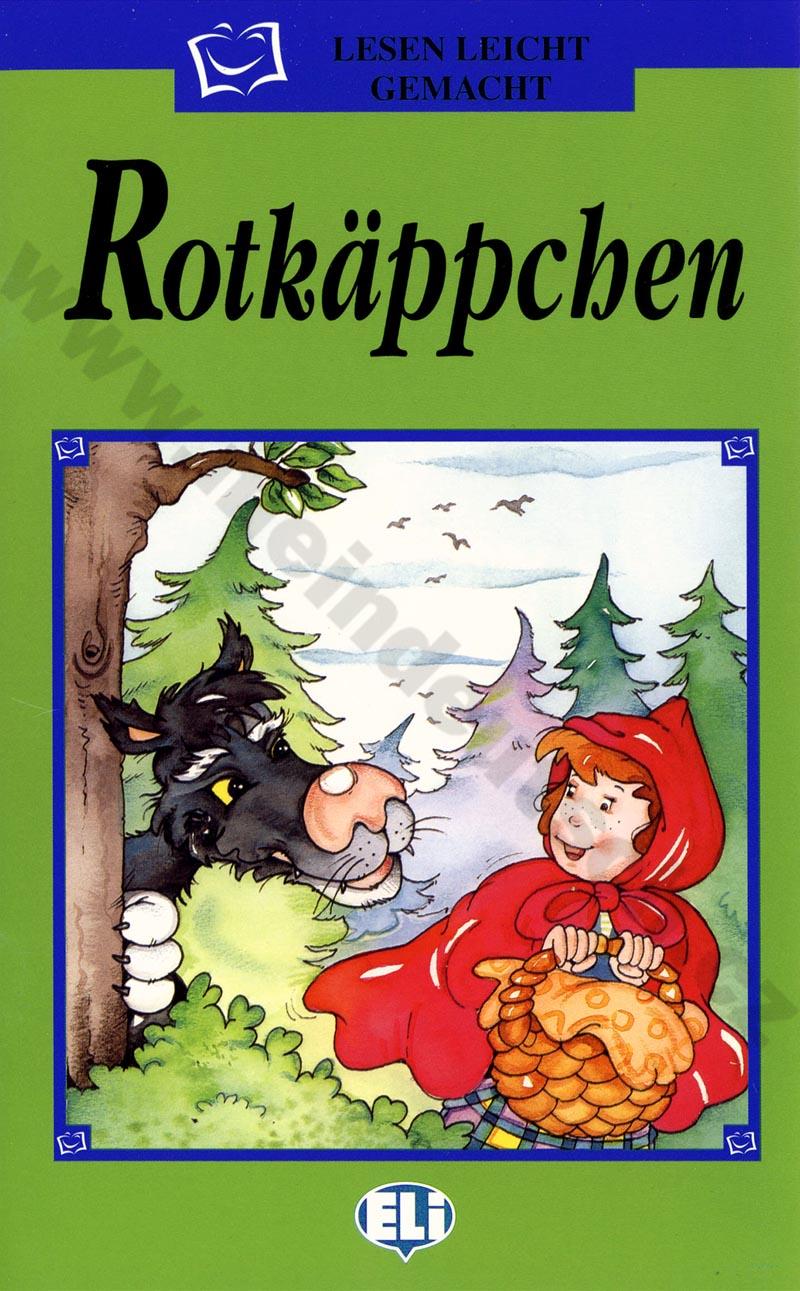 Rotkäppchen - zjednodušená četba v němčině pro děti