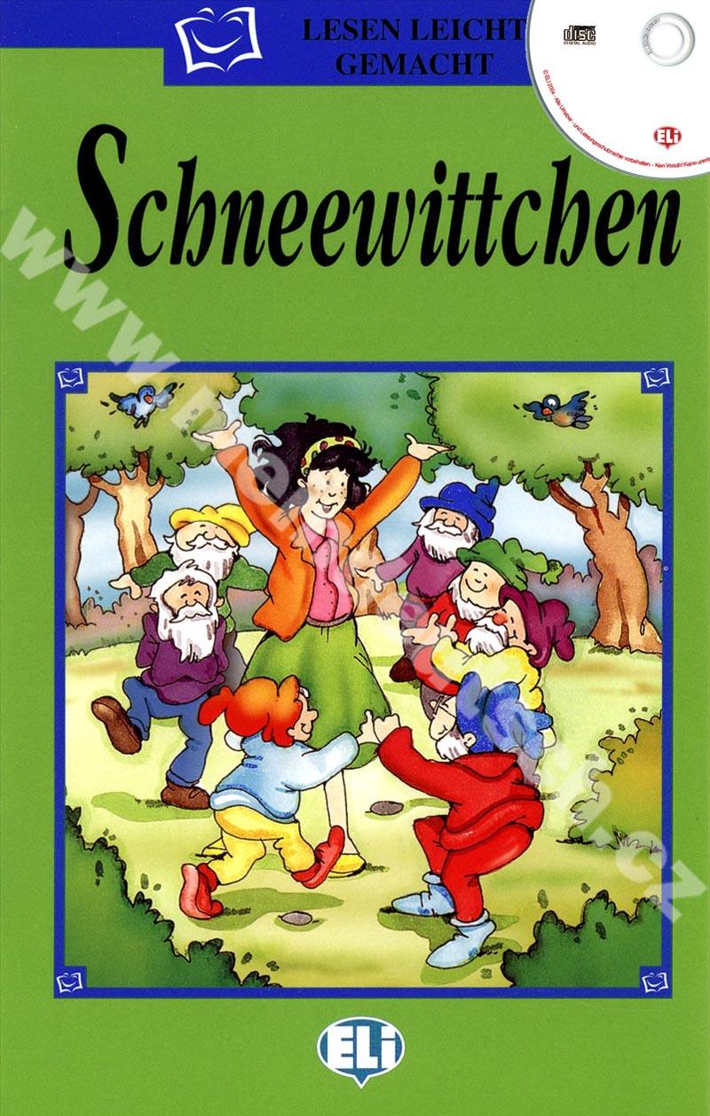 Schneewittchen - zjednodušená četba vč. CD v němčině pro děti