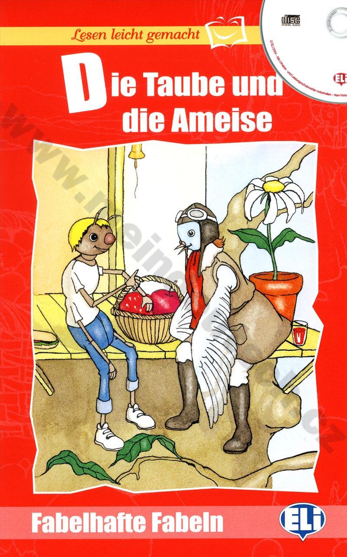 Die Taube und die Ameise - zjednodušená četba v němčině + CD pro děti