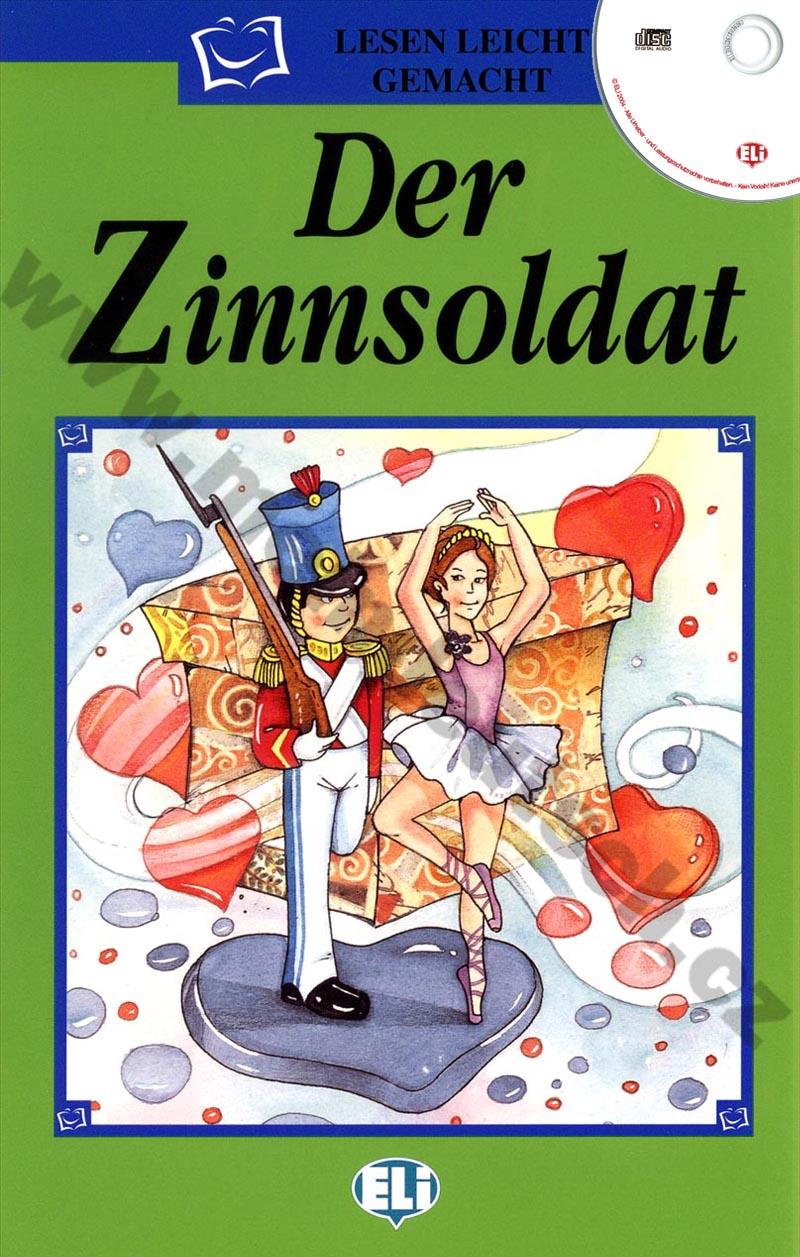 Das Zinnsoldat - zjednodušená četba vč. CD v němčině pro děti