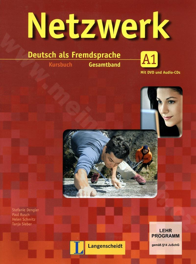 Netzwerk A1 - učebnice němčiny vč. 2 audio-CD a DVD