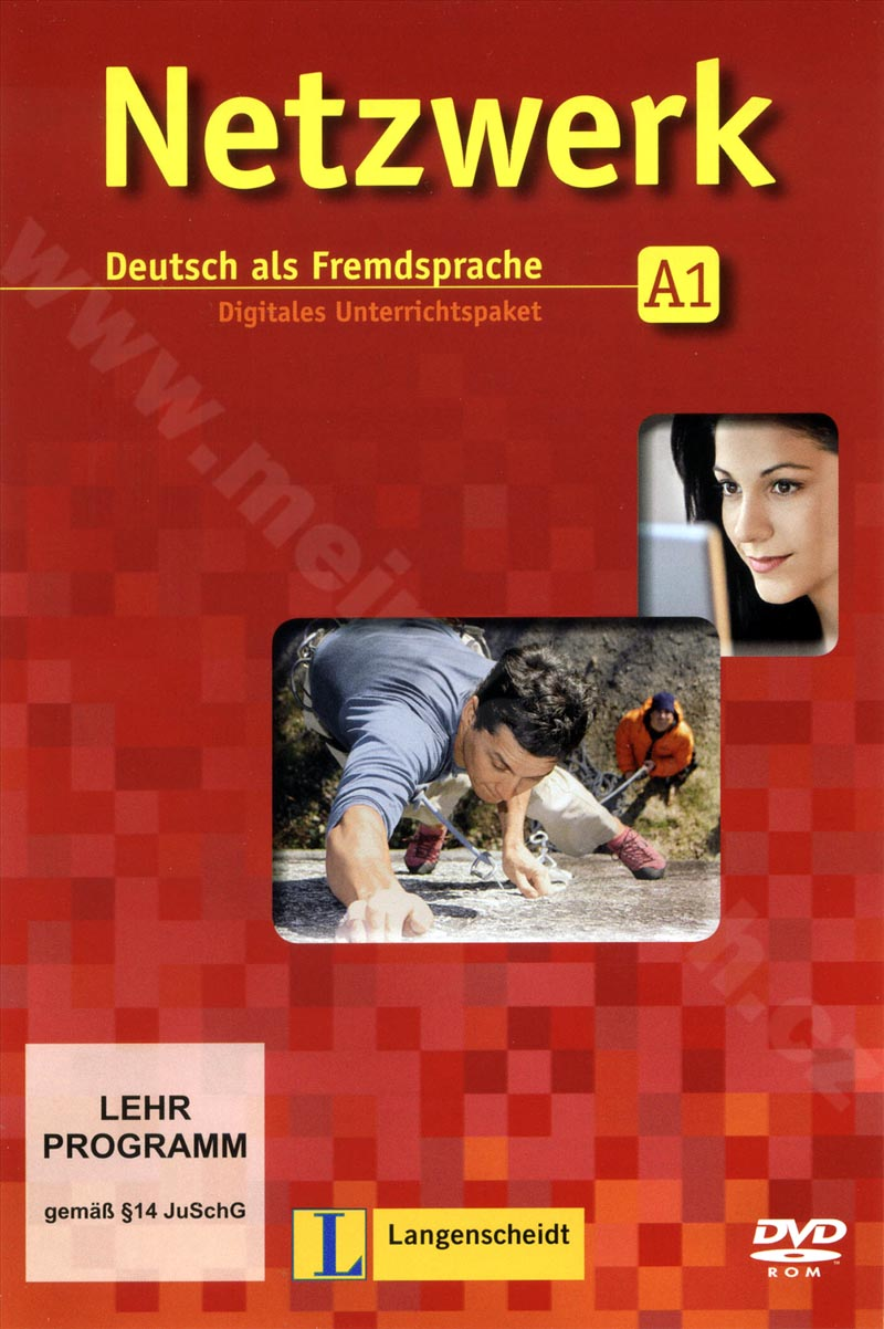 Netzwerk A1 - digitální výukový balíček DVD-ROM