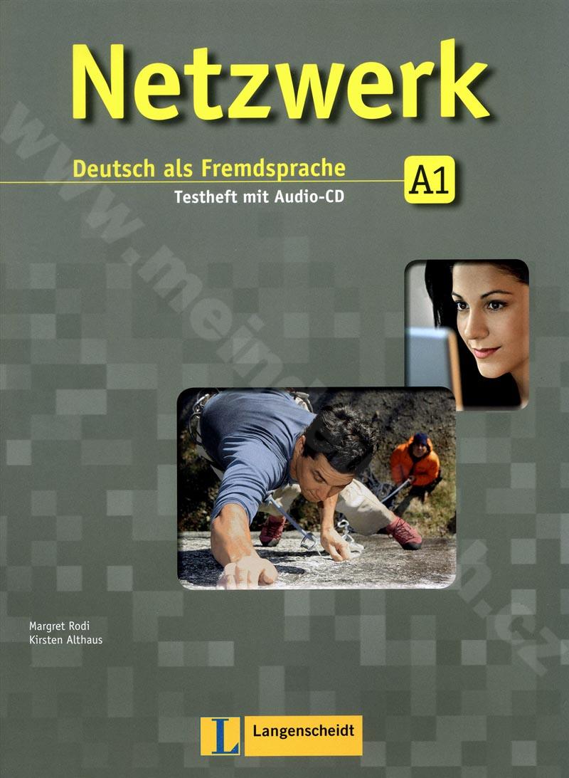Netzwerk A1 - sešit testů k učebnici němčiny vč. audio-CD