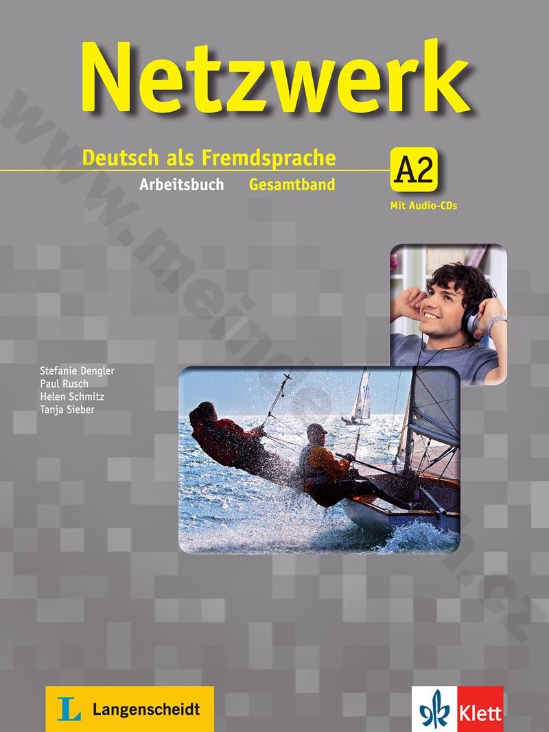 Netzwerk A2 - pracovní sešit němčiny vč. 2 audio-CD