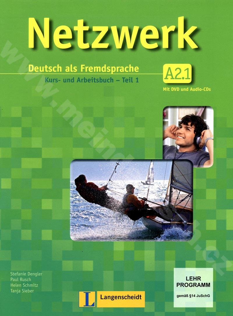 Netzwerk A2.1 - učebnice němčiny a prac. sešit vč. 2 audio-CD a DVD