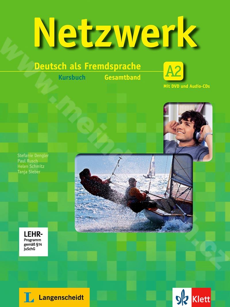 Netzwerk A2 - učebnice němčiny vč. 2 audio-CD a DVD