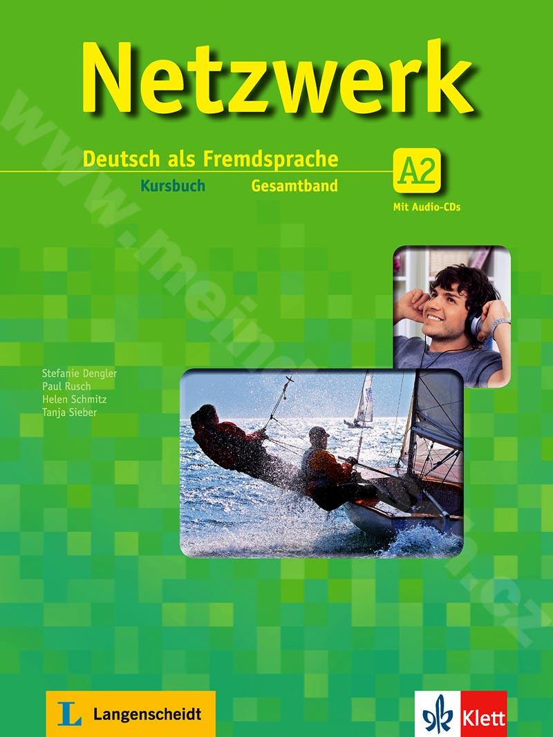 Netzwerk A2 - učebnice němčiny vč. 2 audio-CD