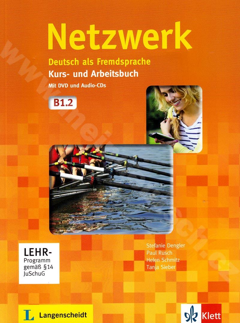 Netzwerk B1.2 - učebnice němčiny a prac. sešit vč. 2 audio-CD a DVD
