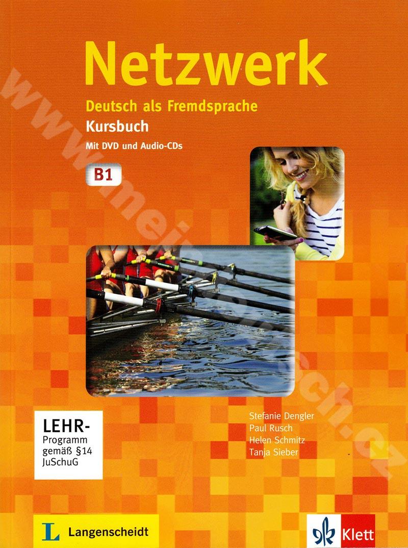 Netzwerk B1 - učebnice němčiny vč. 2 audio-CD a DVD