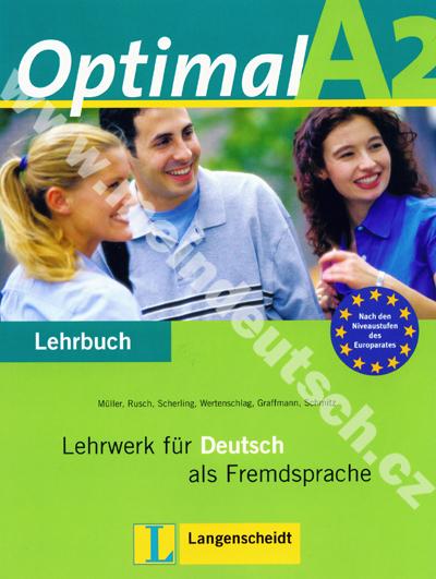 Optimal A2 - 2. díl učebnice němčiny
