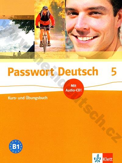 Passwort Deutsch 5 - učebnice němčiny s prac. sešitem (lekce 25-30)