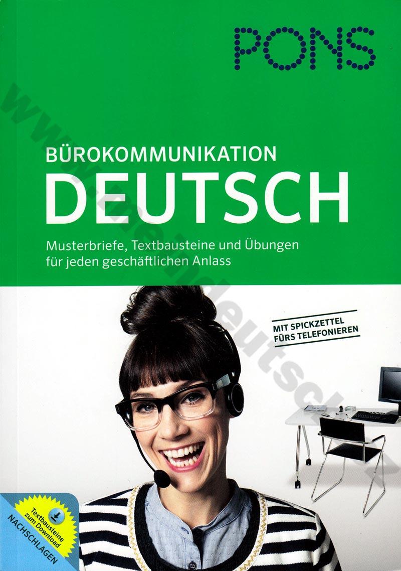 PONS - Bürokommunikation - cvičebnice obch. korespondence a komunikace