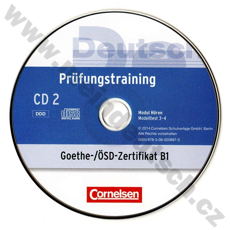 Němčina Prüfungstraining Goethe ösd Zertifikat B1 Cvičebnice K