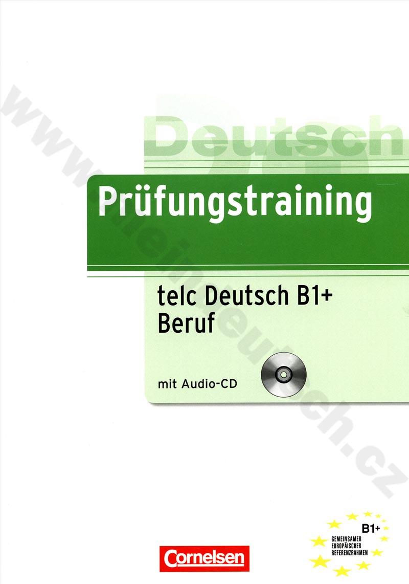 Prüfungstraining telc Deutsch B1 Beruf - cvičebnice k certifikátu +CD