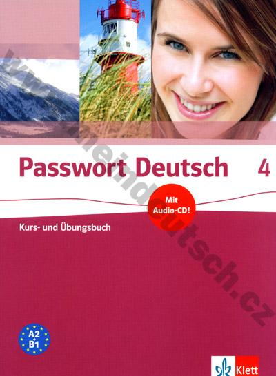 Passwort Deutsch 4 - učebnice němčiny s prac. sešitem (lekce 19-24)