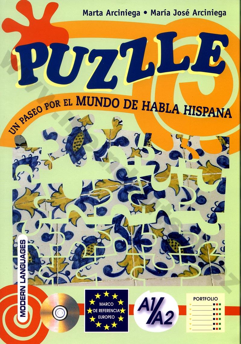 PUZZLE - cvičebnice španělských reálií vč. audio-CD