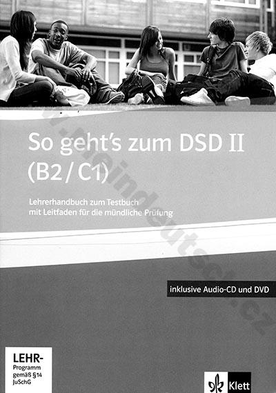 So geht's zum DSD II - metodická příručka k testům vč. DVD a audio-CD