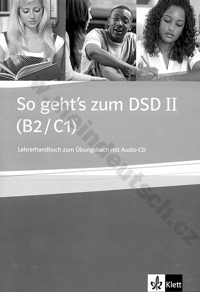 So geht's zum DSD II - metodická příručka k cvičebnici vč. 2 audio-CD