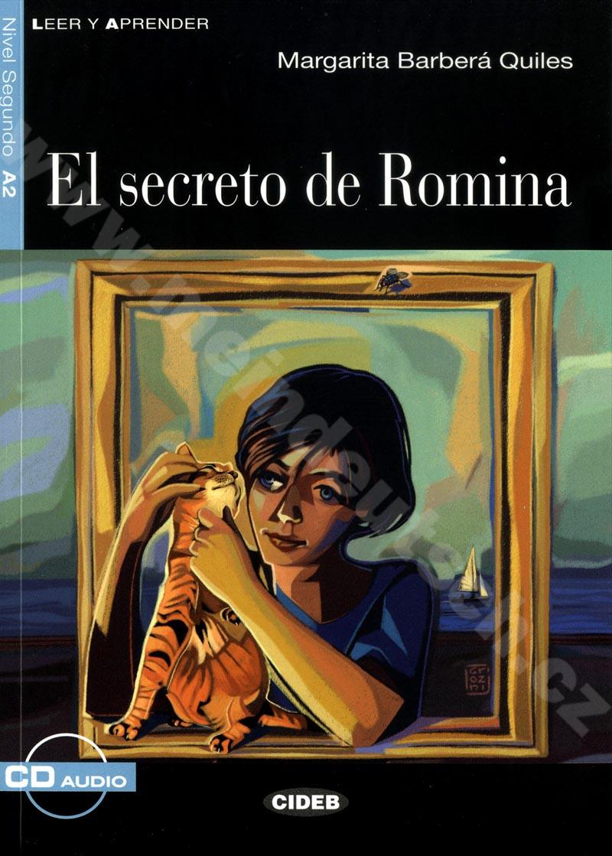 El secreto de Romina - zjednodušená četba A2 ve španělštině vč. CD