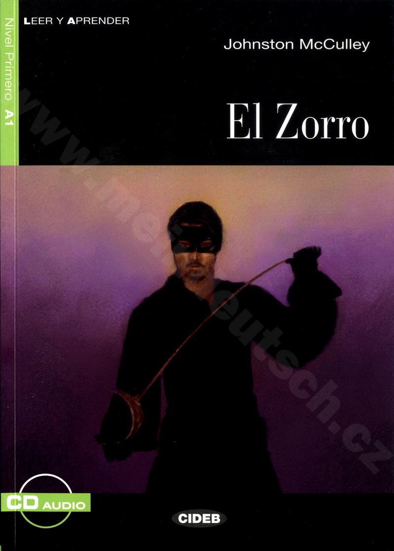 El Zorro - zjednodušená četba A1 ve španělštině (CIDEB) vč. CD