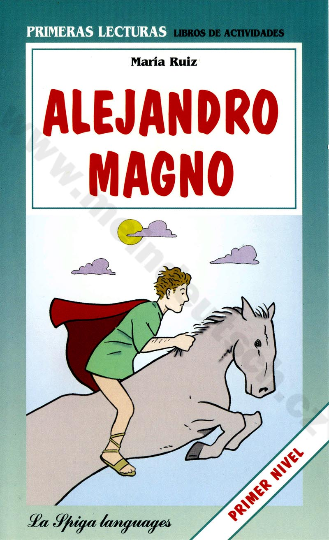 Alejandro magno - zjednodušená četba ve španělštině A1