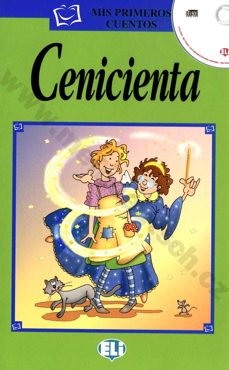 Cenicienta - zjednodušená četba vč. CD ve španělštině pro děti