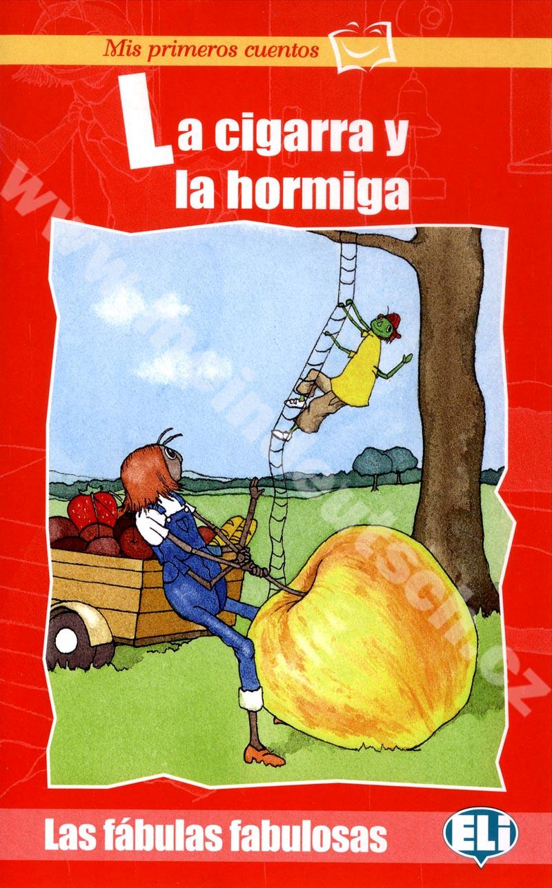 La cigarra u la hormiga - zjednodušená četba ve španělštině pro děti