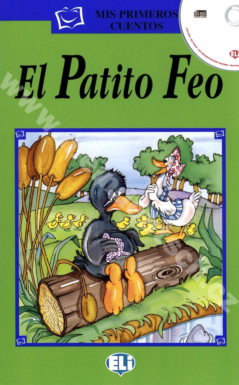 El Patito Feo - zjednodušená četba vč. CD ve španělštině pro děti
