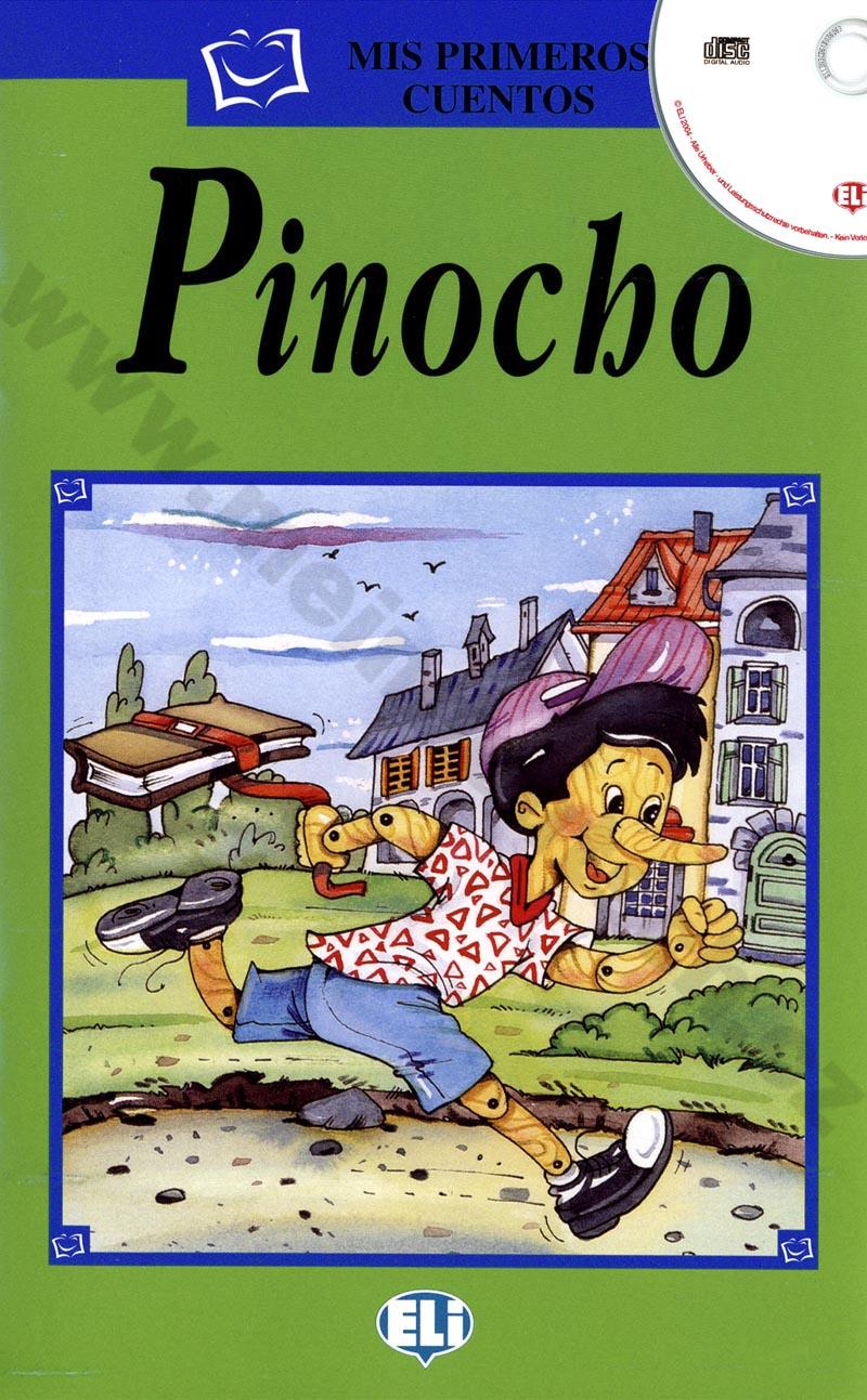 Pinocho - zjednodušená četba vč. CD ve španělštině pro děti