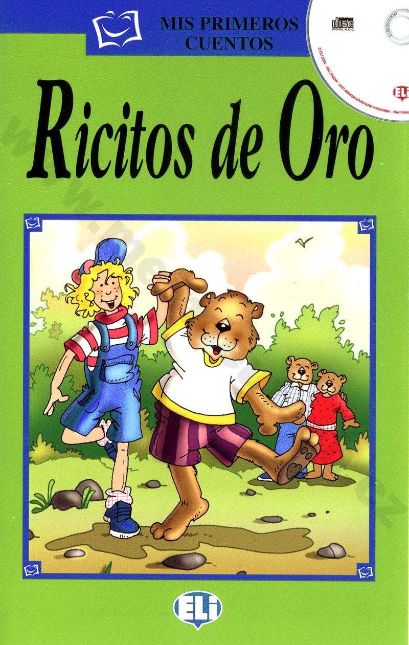Ricitos de Oro - zjednodušená četba vč. CD ve španělštině pro děti