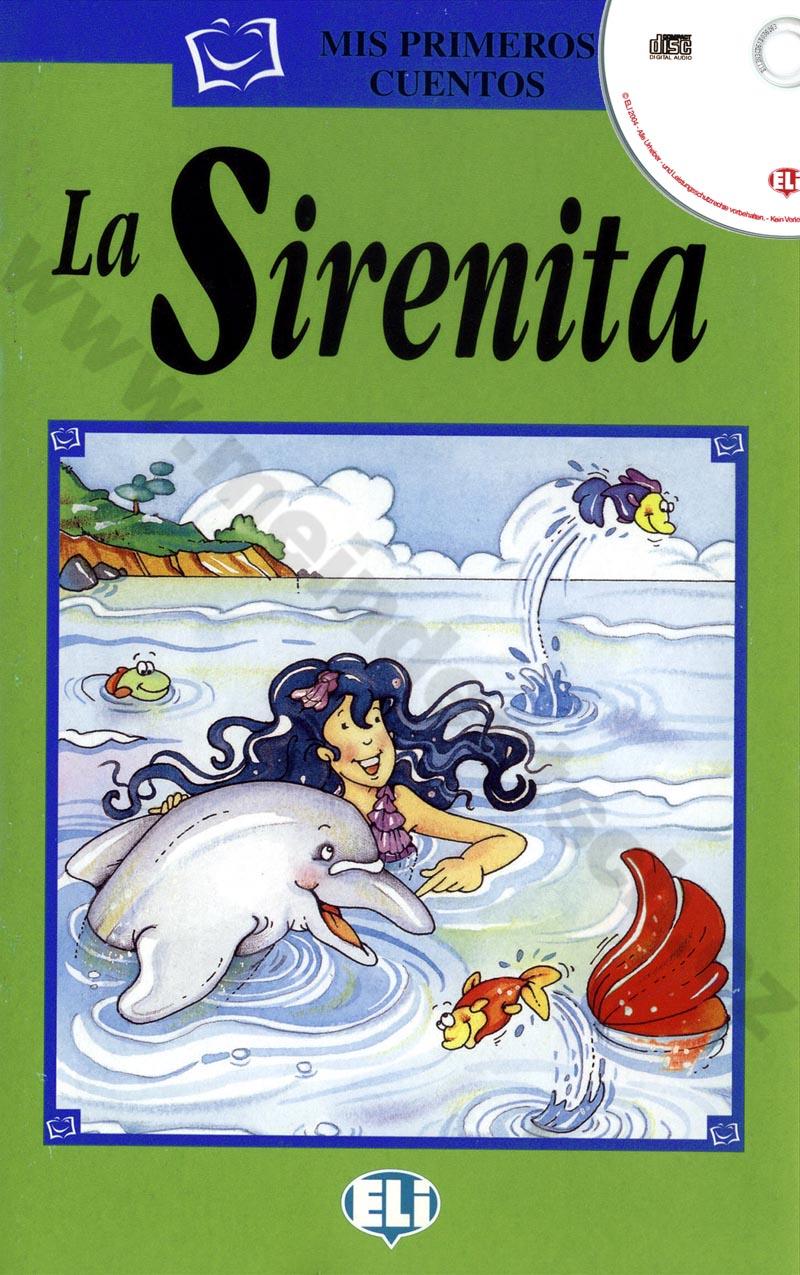 La Sirenita - zjednodušená četba vč. CD ve španělštině pro děti
