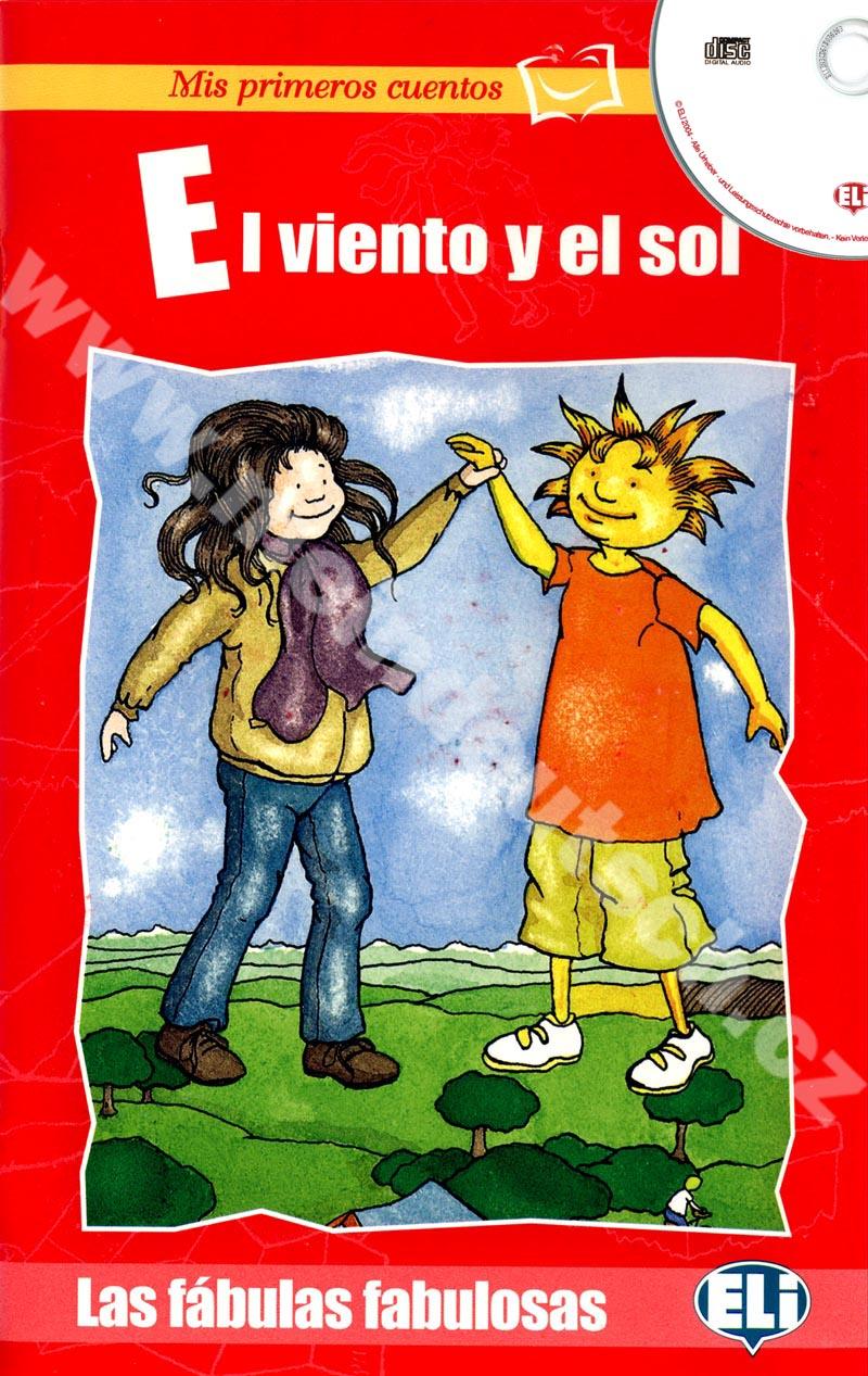 El viento y el sol - zjednodušená četba ve španělštině vč. CD pro děti