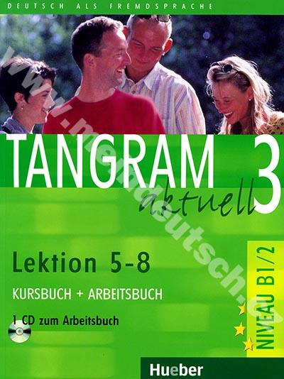 Tangram aktuell 3 (lekce 5-8) - učebnice němčiny a pracovní sešit s CD