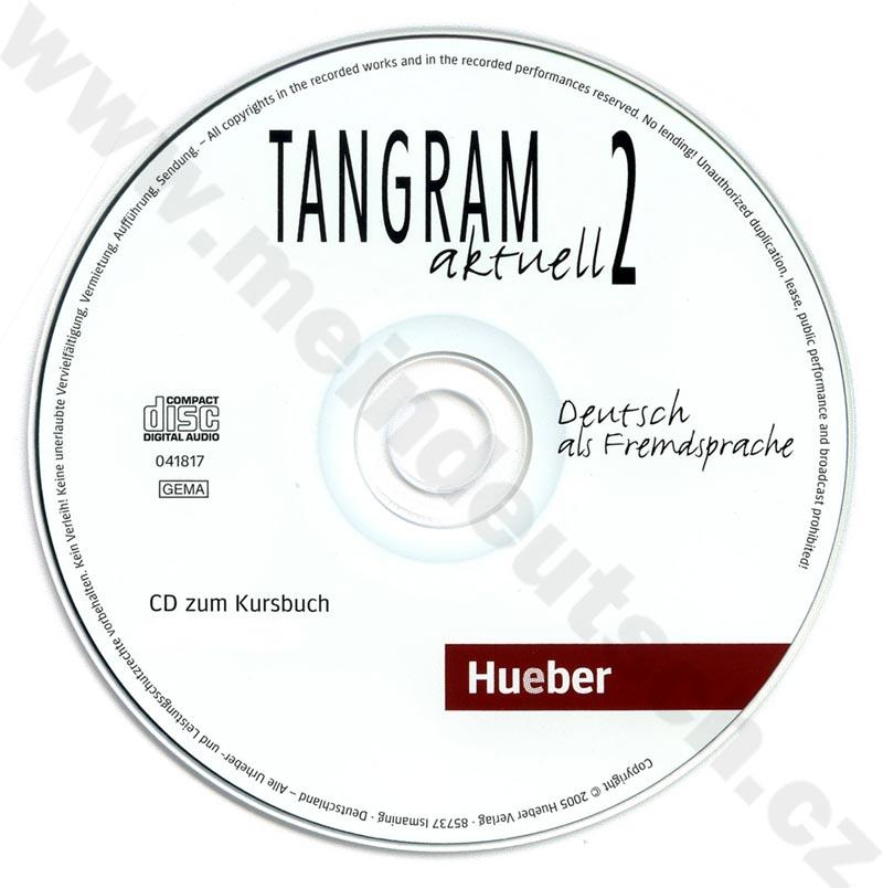 Tangram aktuell 2 (lekce 1-4) - audio-CD k učebnici
