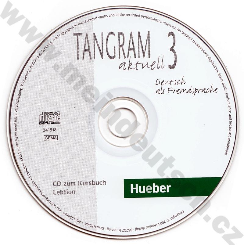 Tangram aktuell 3 (lekce 1-4) - audio-CD k učebnici
