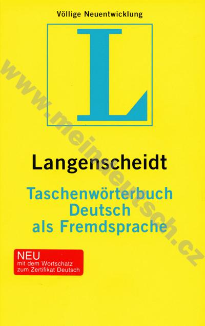 Taschenwörterbuch DAF - německý slovník v měkké vazbě