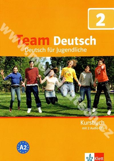 Team Deutsch 2 - učebnice němčiny vč. 2 audio-CD (D verze)