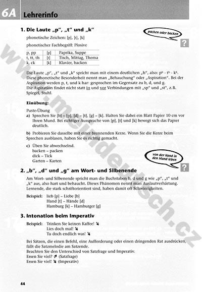 Nemcina Themen 1 Phonetik Aktuell Pracovni Listy K Fonetice S