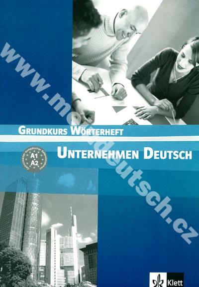 Unternehmen Deutsch Grundkurs - německý slovníček
