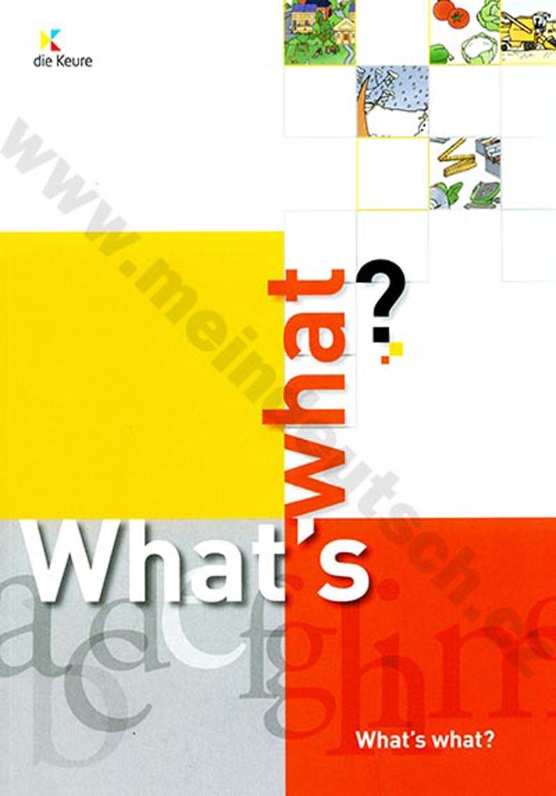 What's what? - anglický ilustrovaný / obrazový výukový slovník