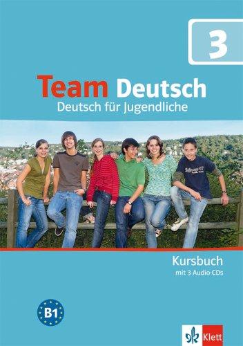 Team Deutsch 3 - učebnice němčiny vč. 3 audio-CD (D verze)