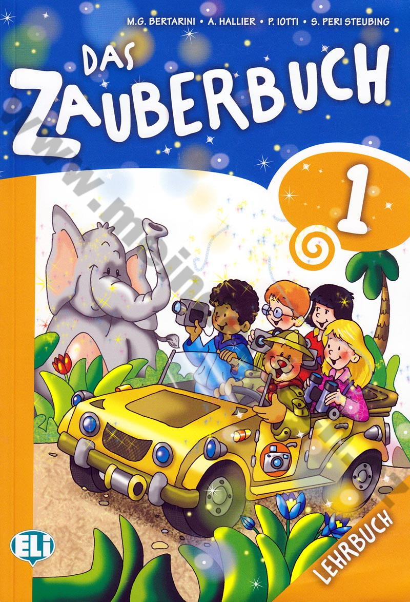 Das Zauberbuch 1 - učebnice němčiny vč. audio-CD