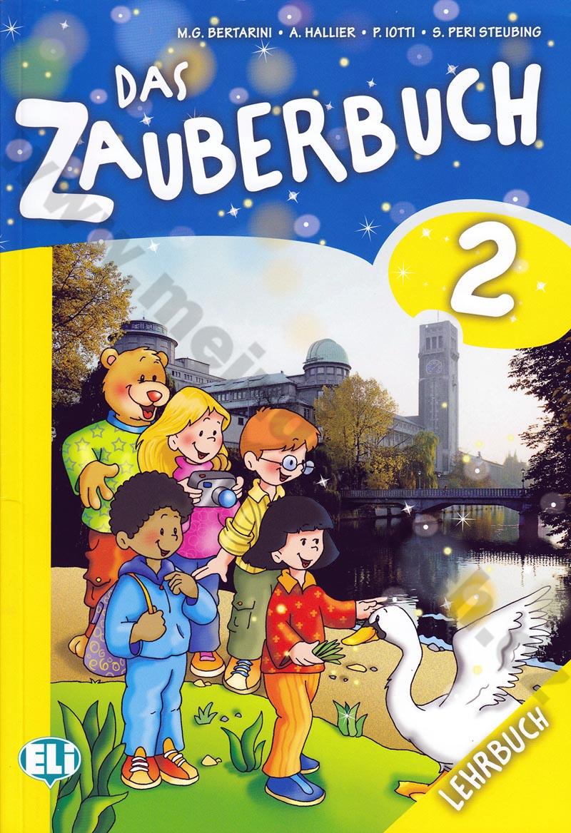 Das Zauberbuch 2 - učebnice němčiny vč. audio-CD