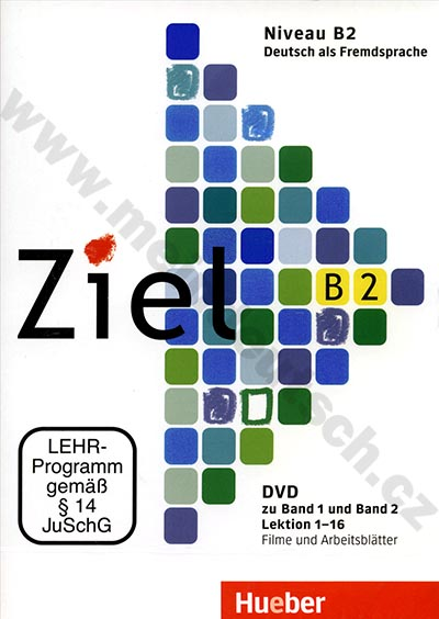 Ziel B2 – DVD s pracovními listy k oběma dílům B2 (lekce 1-16)